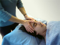 Therapeutic Massage of the head