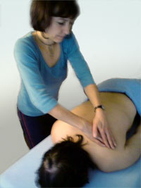 Therapeutic massage of the shoulder