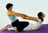 Thai Yoga Massage stretching